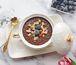 快手早餐——可可香蕉燕麦碗#晒出你的团圆大餐#的做法