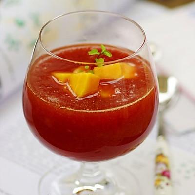 美颜红酒木瓜饮