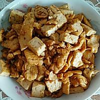 豆腐炒肉的做法图解7