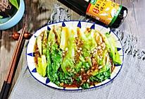 鲜贝露春日尝鲜~蚝油生菜的做法