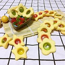 QQ彩糖饼干