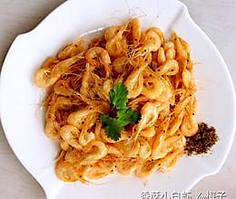香酥小白虾的做法
