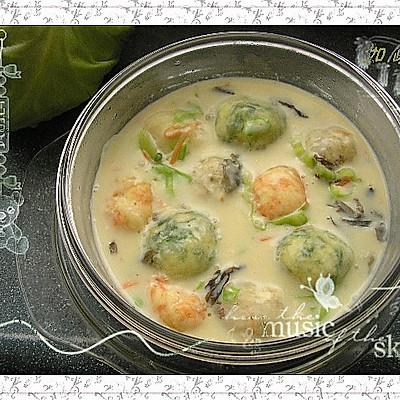 豆腐圆子豆浆锅
