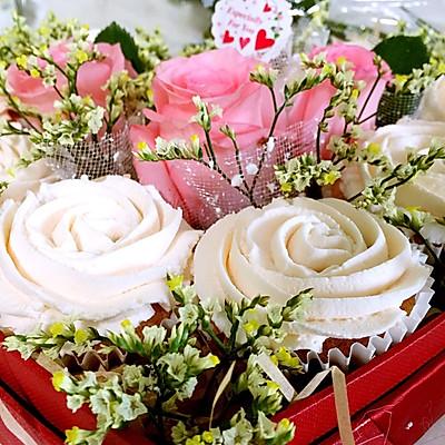 玫瑰花蛋糕礼盒的做法 步骤14