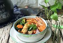 韩式海鲜锅 #初夏搜食#的做法