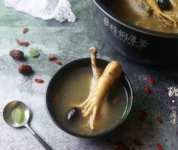 冬季进补鲜吃人参不上火【鲜人参鸡汤】的做法