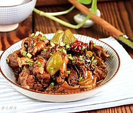 酸菜鸡##金龙鱼外婆乡小榨菜籽油 最强家乡菜#的做法