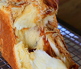 双重拉丝的红糖麻薯吐司的做法