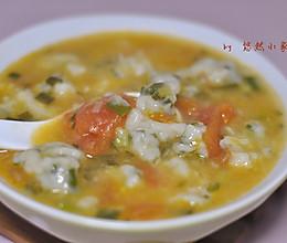 冬日暖汤——小葱疙瘩汤的做法