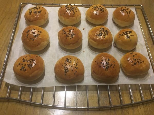 红豆面包的做法