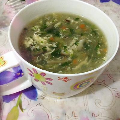 五彩时蔬汤