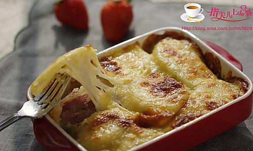培根焗土豆 的做法