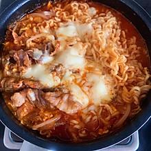 韩式泡菜肥牛火锅面