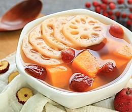 莲藕山楂糖水的做法