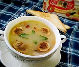 奶油蘑菇汤#一起吃西餐#的做法