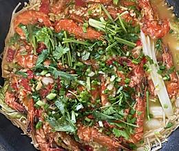 鲜虾煲的做法