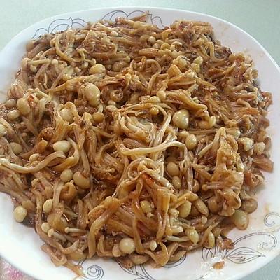 香辣金针蘑
