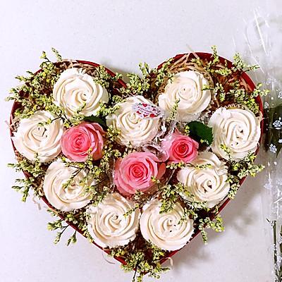 玫瑰花蛋糕礼盒的做法 步骤13