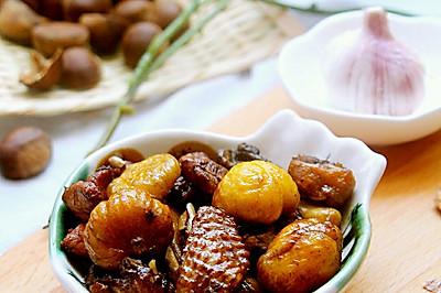 專屬金秋的美味~栗子燒雞