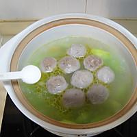 菌菇莴笋牛肉丸汤的做法图解8