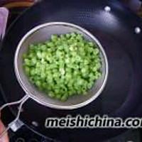 豆角煎蛋的做法图解4