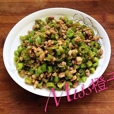 [ 肉末杭椒 ] 川菜,快手菜,调料少