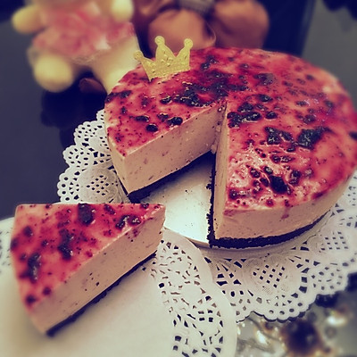 蓝莓酸奶慕斯