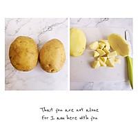 外酥里糯的【孜然土豆块】,味道不输排长队的路边摊~的做法图解1