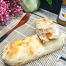 菠萝芒果酱夹心欧式软包,懒人做法