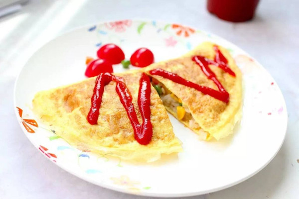 美味蛋包饭的做法