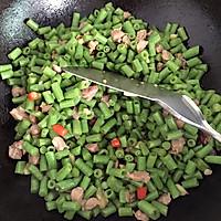 豆角粒炒肉的做法图解6