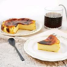 #快手又营养,我家的冬日必备菜品#巴斯克烤芝士蛋糕
