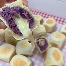 爆浆芝士紫薯仙豆糕网红仙豆糕