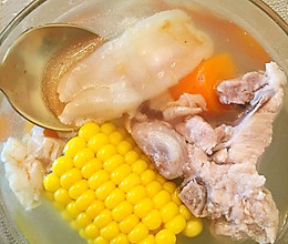 花胶猪骨汤的做法