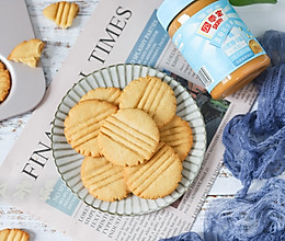 #四季宝蓝小罐#花生酱曲奇饼干的做法