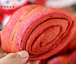 一招让朴素小花卷颜值逆天:甜菜根椒盐卷