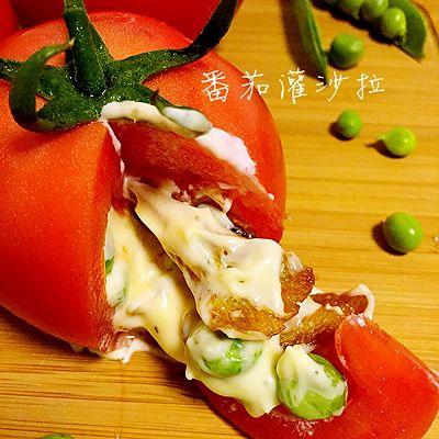番茄灌沙拉