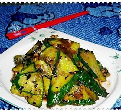 豆豉炒黄瓜