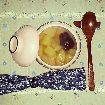 暖暖红枣苹果汤