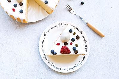 酸奶淋面蛋糕