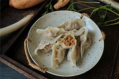 猪肉莲藕饺子#太太乐鲜鸡汁蒸鸡原汤#