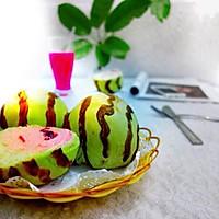 西瓜面包#美的FUN烤箱,焙有FUN儿#