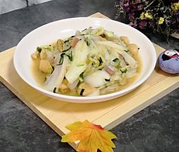 油豆腐烧大白菜的做法