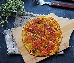 焦香土豆丝饼的做法