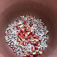 #洗手作羹汤#红糖八宝膳粥的做法图解2
