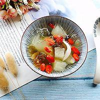 桃胶雪梨百合枸杞糖水#做道好菜,自我宠爱!#的做法图解15