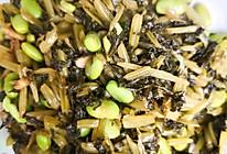 雪菜炒毛豆的做法