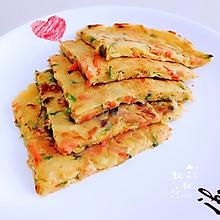 【时令鲜蔬煎饼】