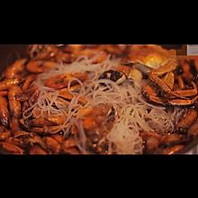 河虾粉丝煲