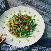 #母亲节,给妈妈做道菜#韭菜花炒肉丝